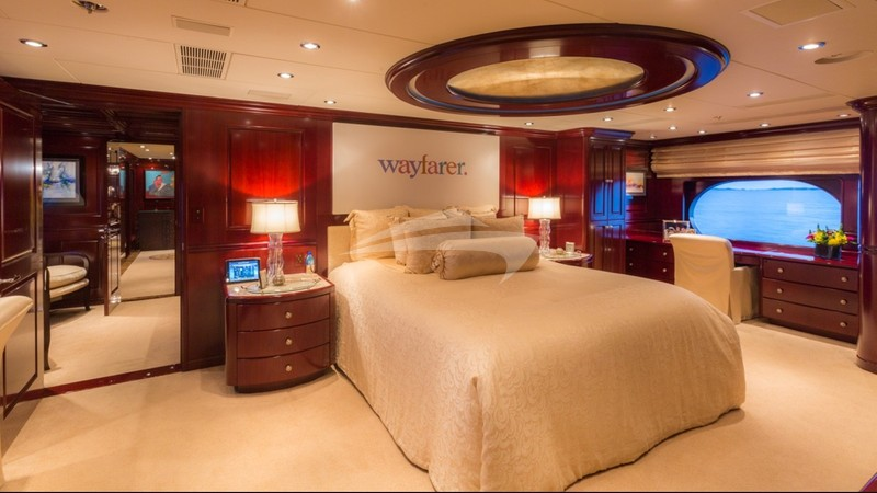 Master Stateroom, main deck, forward