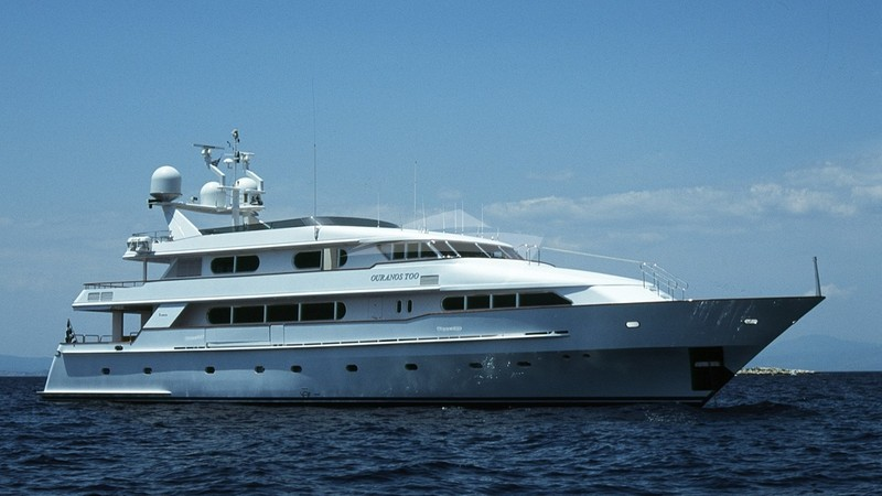 OURANOS TOO Yacht Charter