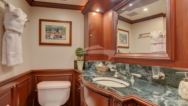 Master Bath His and Hers
