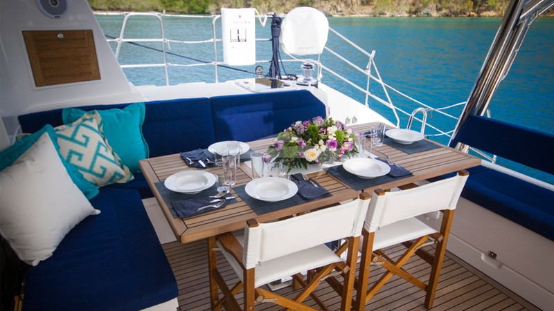 XENIA 50 :: Aft Deck