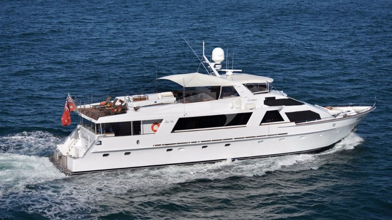 COSMOS Yacht Charter