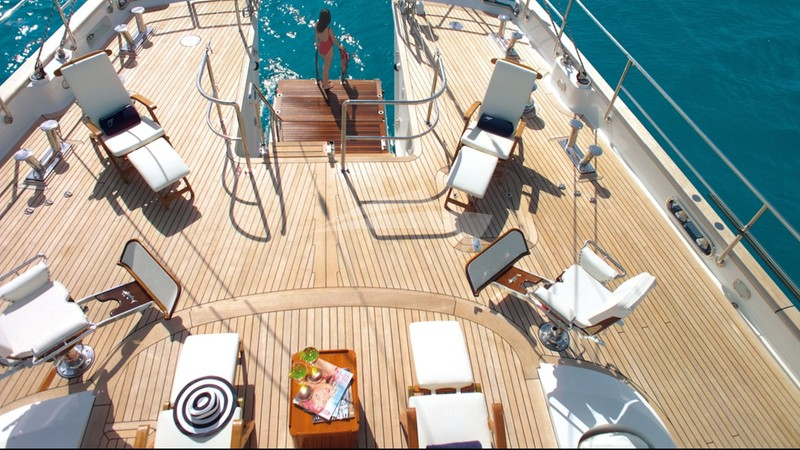 Aerial View of Deck